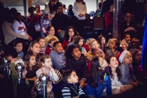 Children Watching Magic Show