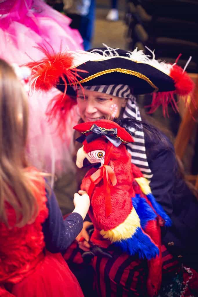 Pirate With Tucan