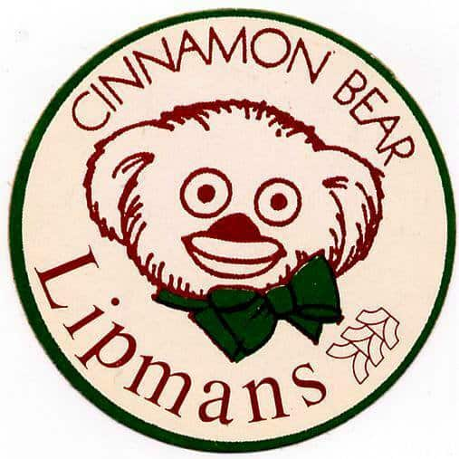 cinnamon bear historical patch
